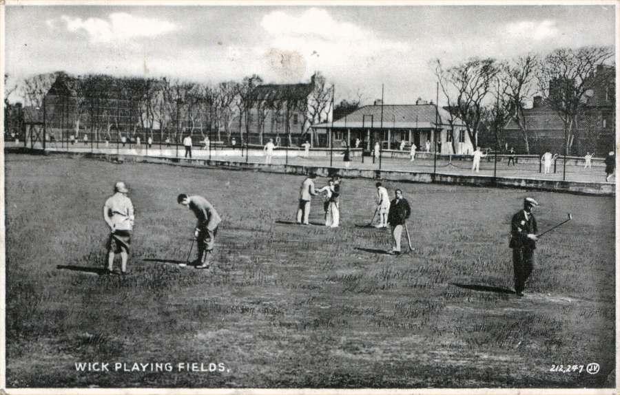 Photo: Wick Playing Fields 1930s