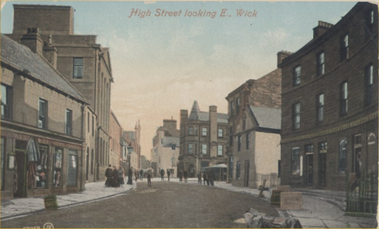 Photo: High St, Wick - Looking East