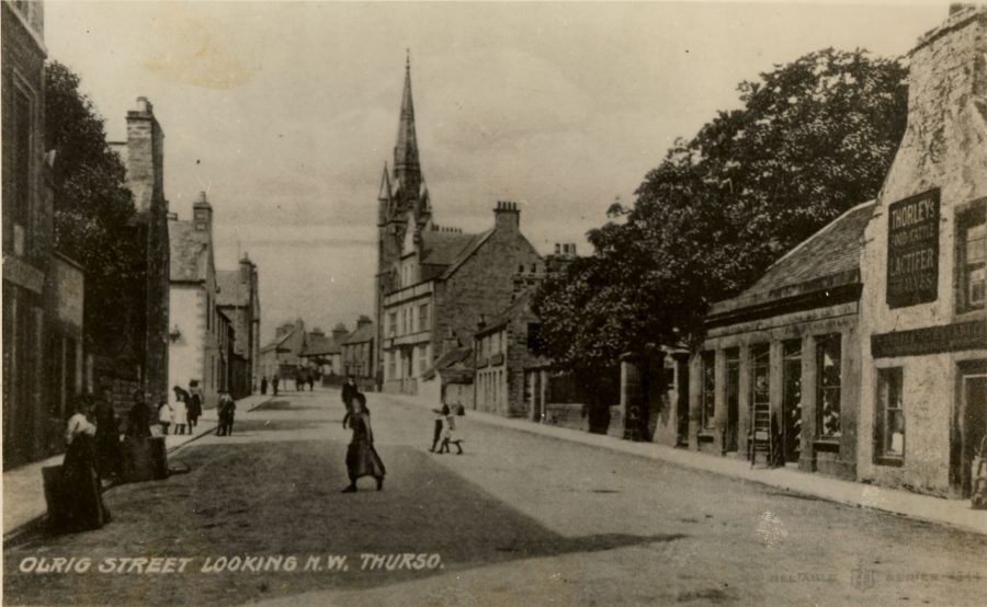 Photo: Olrig Street Looking NW Thurso