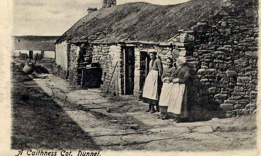 Photo: Caithness cottage, Dunnet