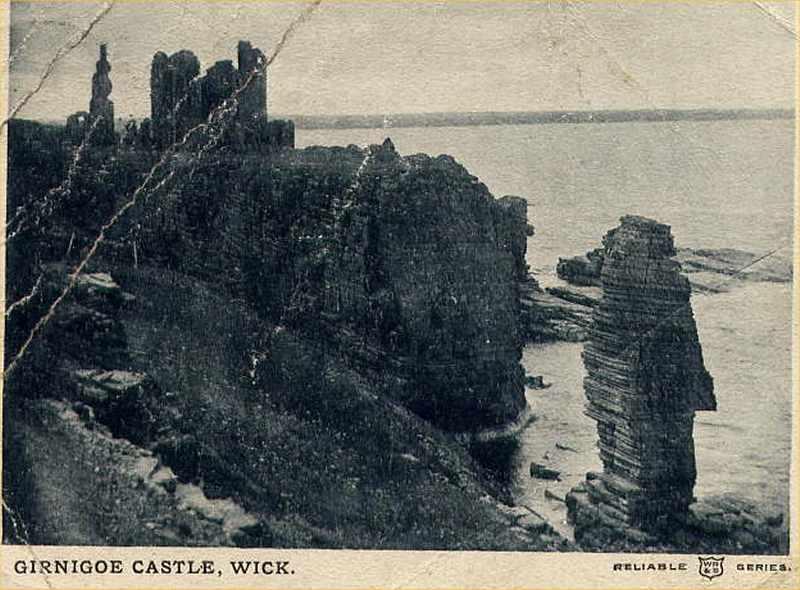 Photo: Girnigoe Castle, Wick