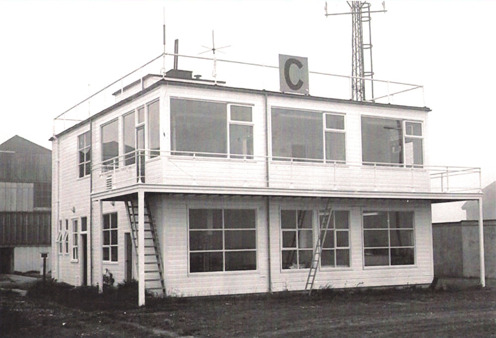 Photo: Control Tower - Wick Airport - World War Two