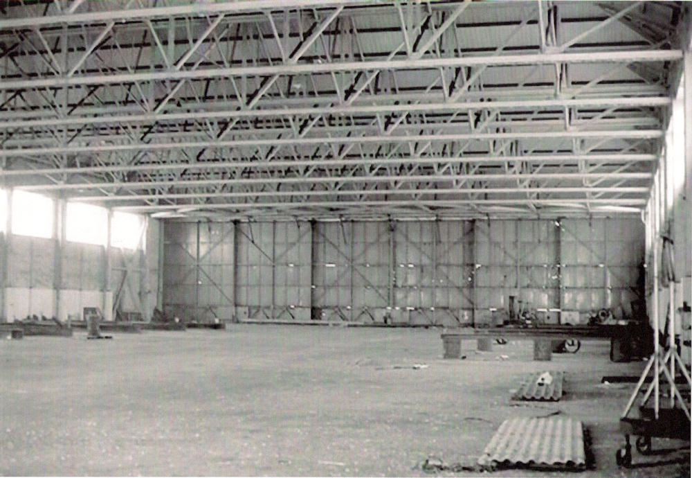 Photo: Inside A Hanger At Wick Airport - From World War Two