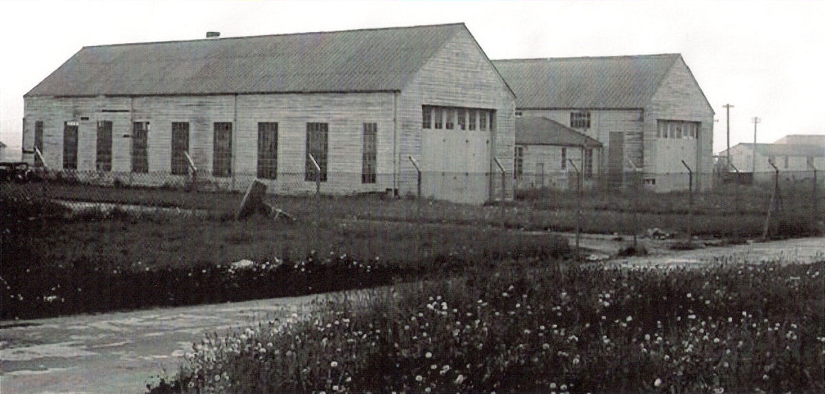 Photo: Main Workshops - Wick Airport - World War Two