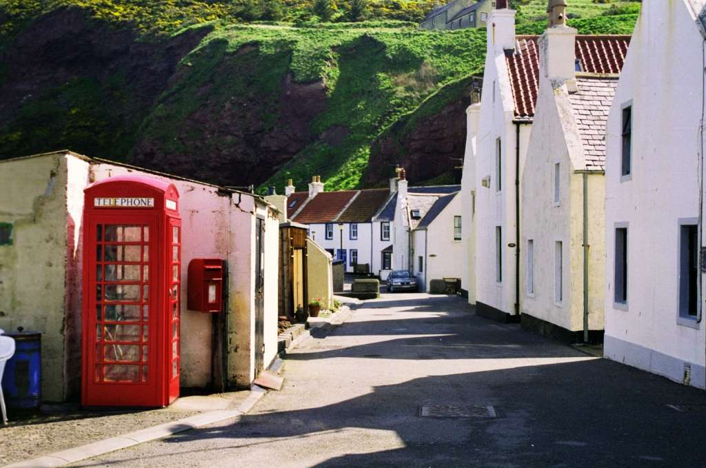 Photo: Pennan, Banffshire - Made Famous In The Film Local Hero