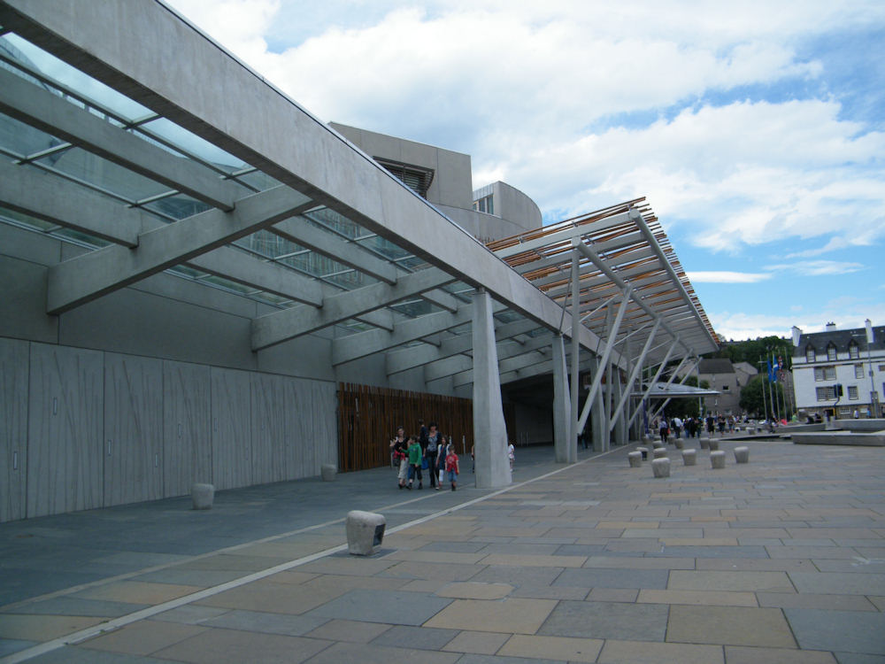 Photo: The Scottish Parliament - Edinburgh
