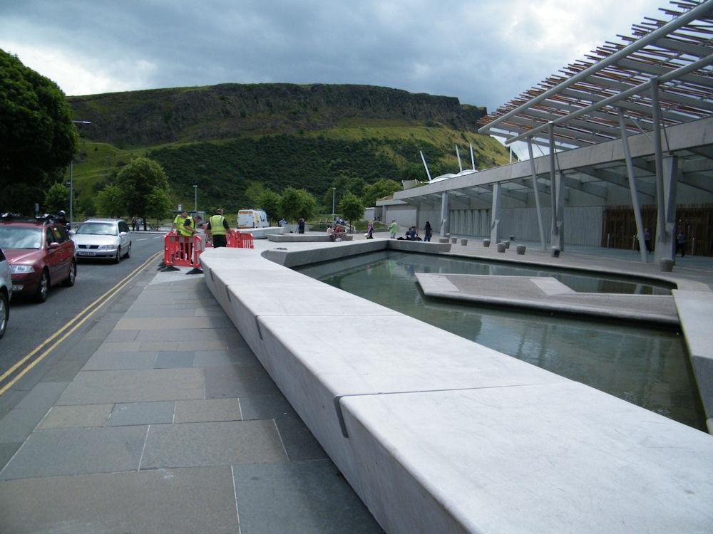 Photo: The Scottish Parliament - Edinburgh