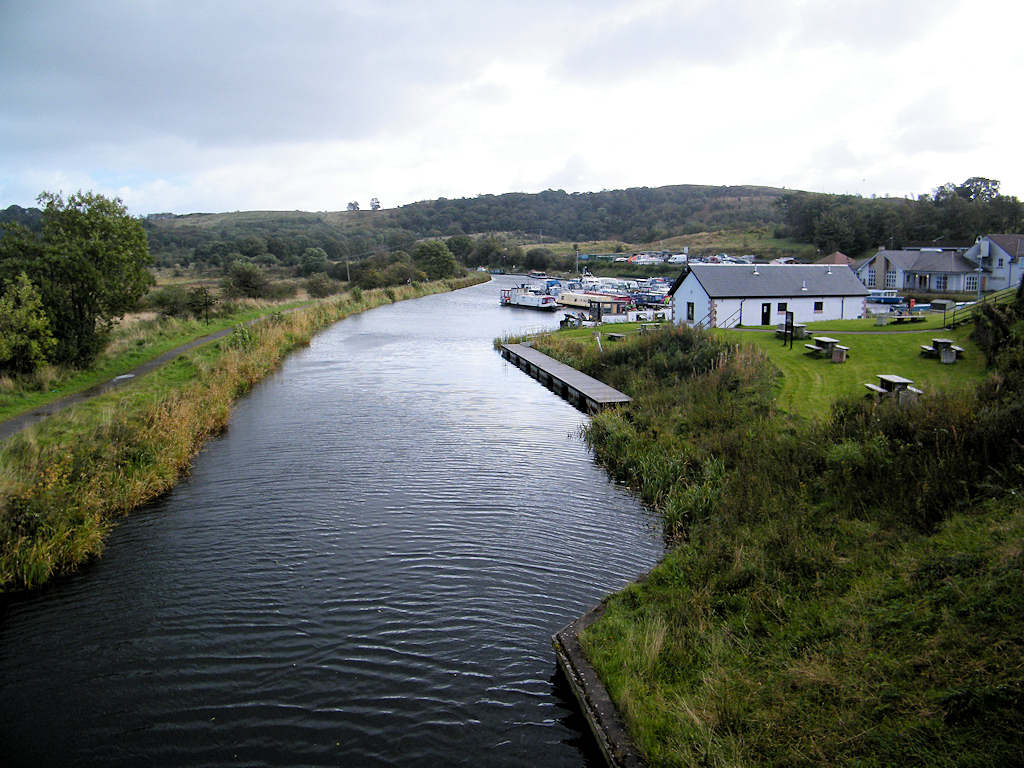 Photo: Forth Clyde Canal - Starting at Achinstarry
