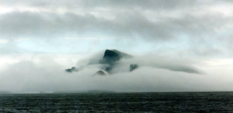 Photo: St Kilda Can Often Be lost In The Mist