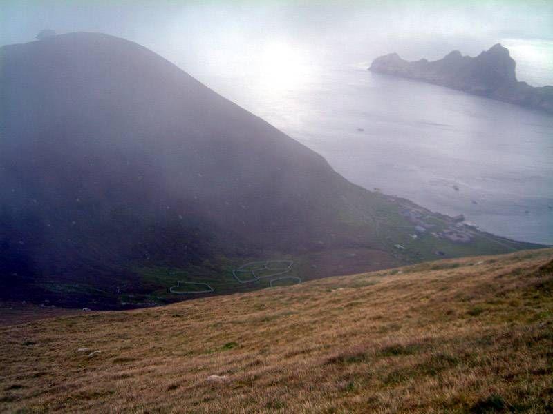 Photo: St Kilda - Looking From Hirta to Dun