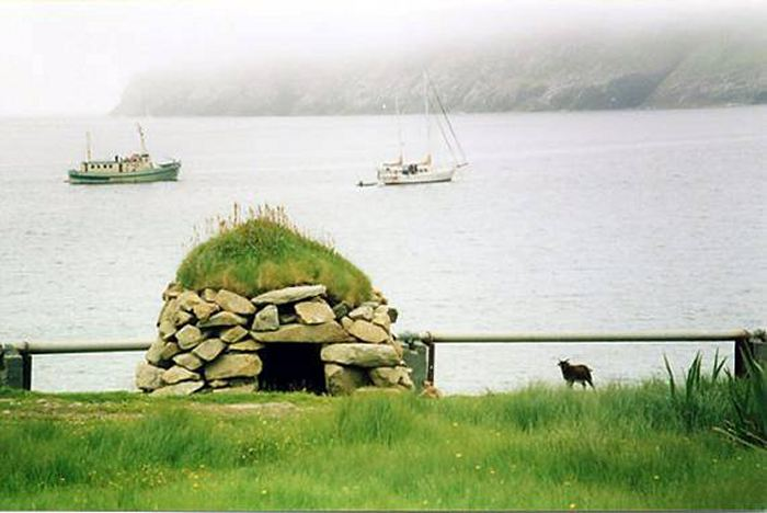 Photo: Village Bay Offers Shelter From Stormy Weather