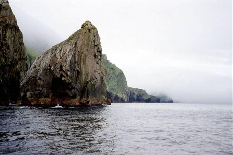 Photo: Spectacular Cliffs and Stacs At St Kilda
