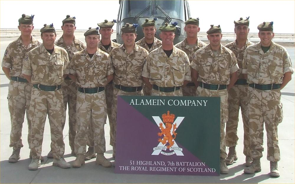 Photo: SF Platoon - All Home From Basra May 2007