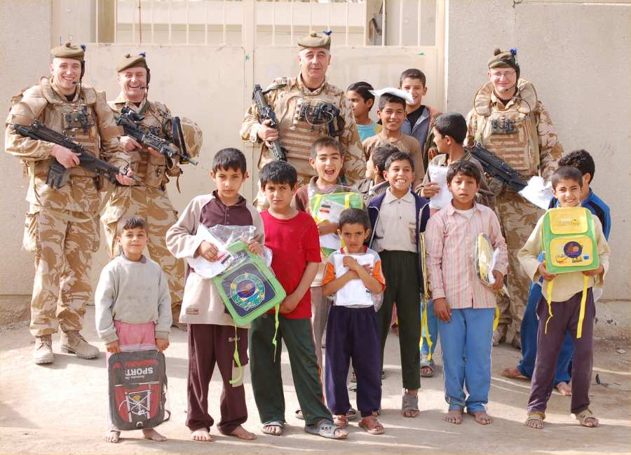 Photo: SF Platoon, Wick In Basra