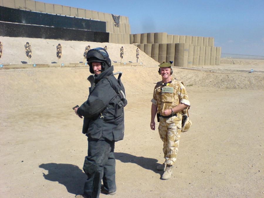 Photo: SF Platoon, Wick In Basra