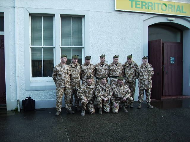 Photo: Caithness Soldiers Ready To Set Off For Iraq
