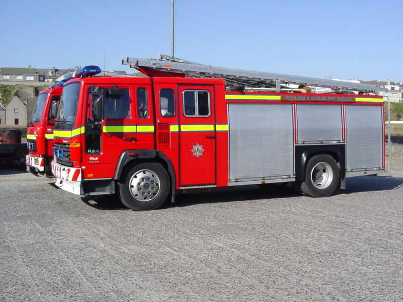 Photo: Fire Tender at Wick