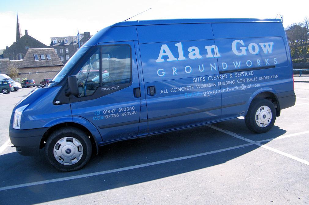 Photo: Alan Gow Groundworks