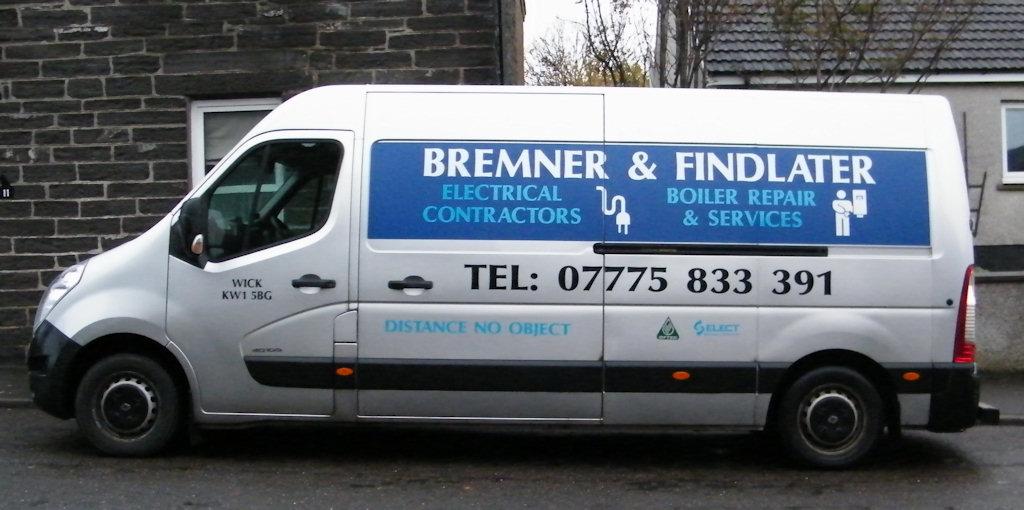 Photo: Bremner and Findlater