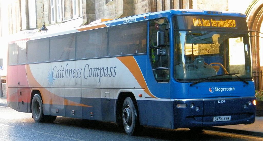 Photo: Bus At Bridge Street, Wick