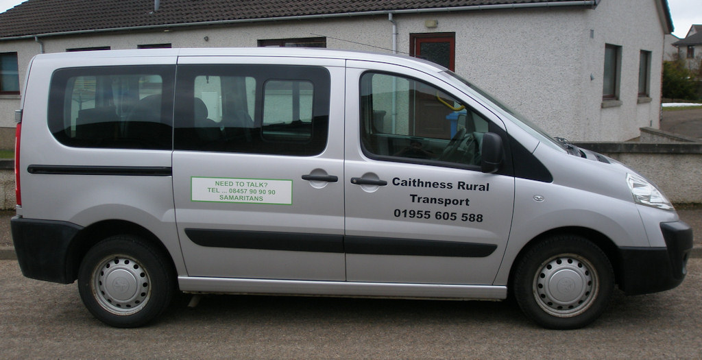Photo: Caithness rural Transport