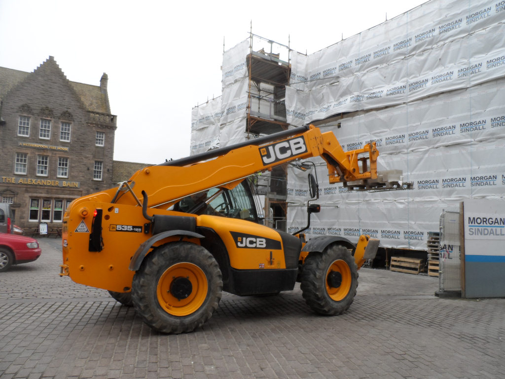 Photo: Working At New Council Offices In wick