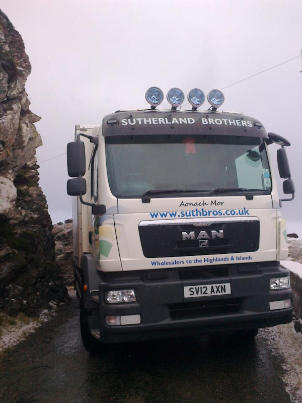 Photo: Sutherland Brothers Supplying The Highlands