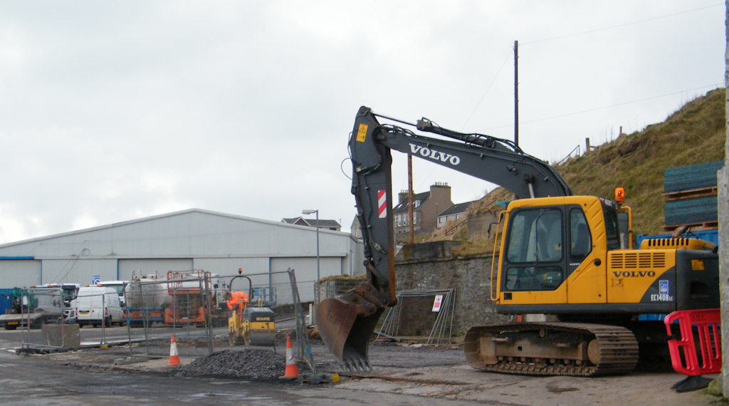 Photo: Site of Simpson Contractors New Offices