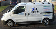 Korrie New Van