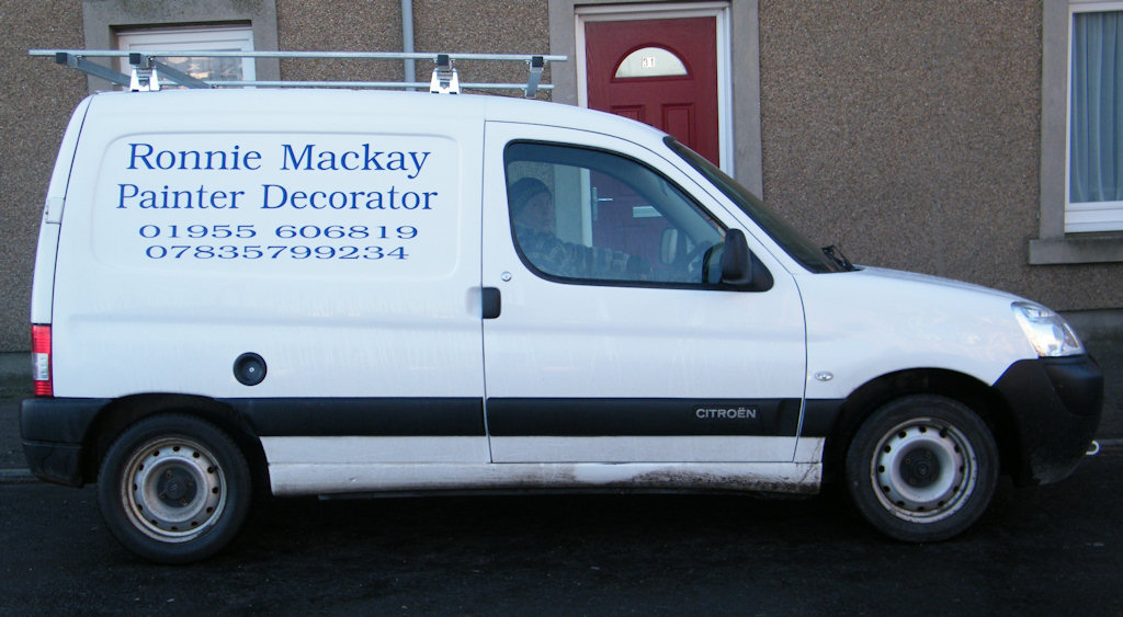 Photo: Ronnie Mackay - Painter and Decorator