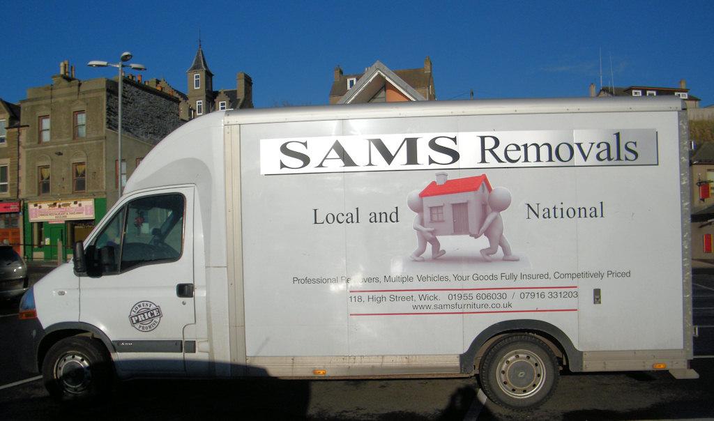 Photo: Sams - Removals
