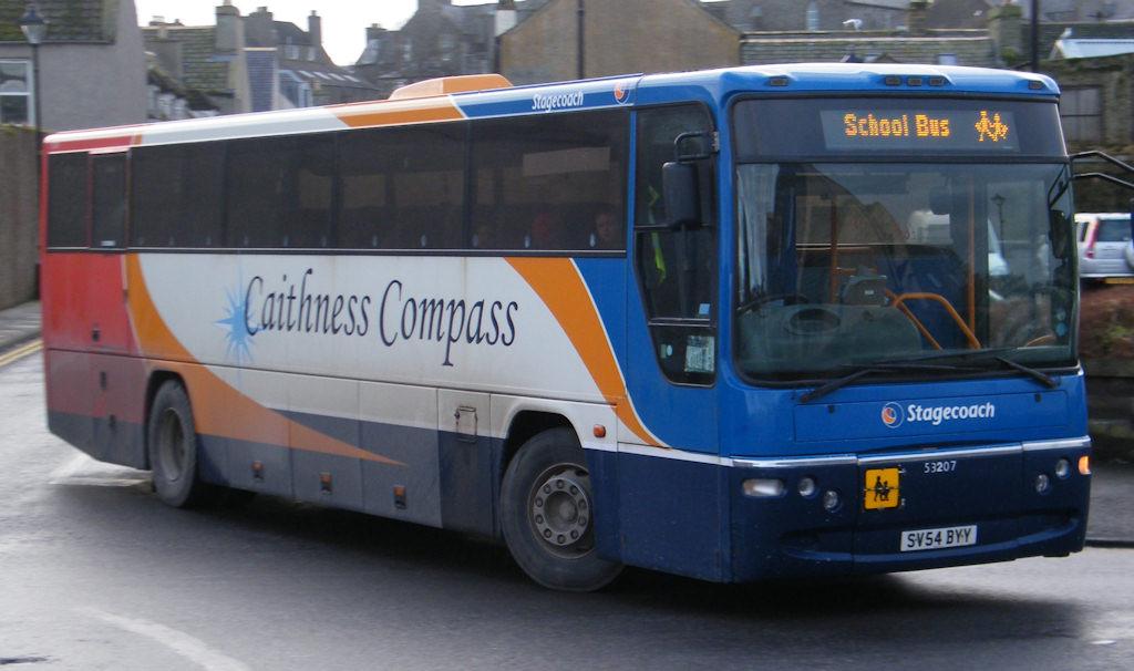 Photo: A School Bus in Wick