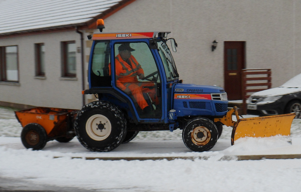 Photo: Snow clearing On Wick Pavements
