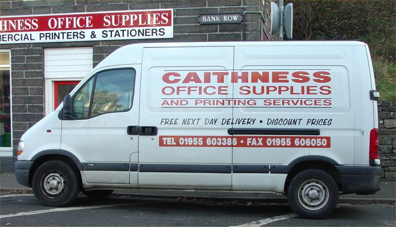 Photo: Caithness Transport - Caithness Office Supplies Ceased Trading October 2004