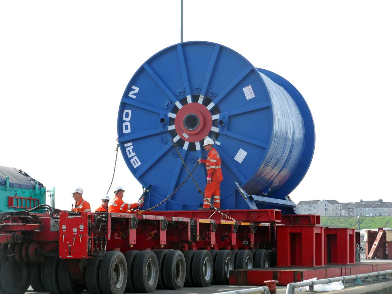 Photo: Huge Cables Heading For Subsea7