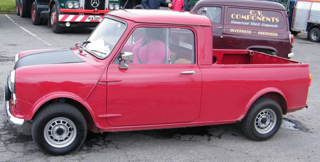 Photo: Austin Morris Mini Pickup 1979