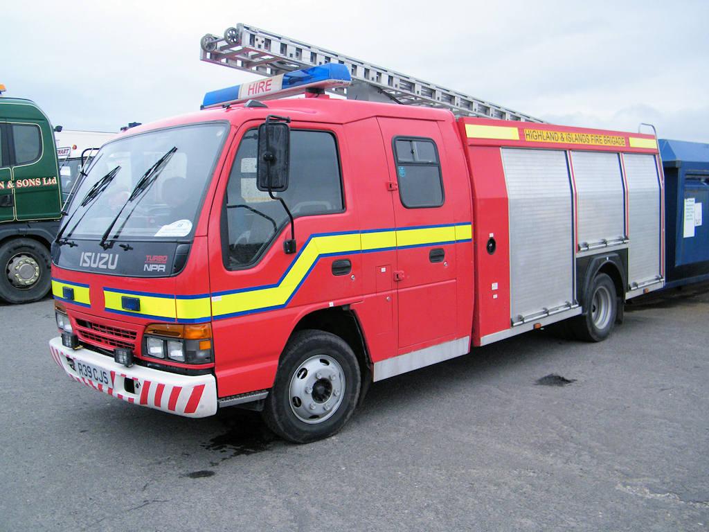 Photo: Isuzu NZR Fire Engine 1997