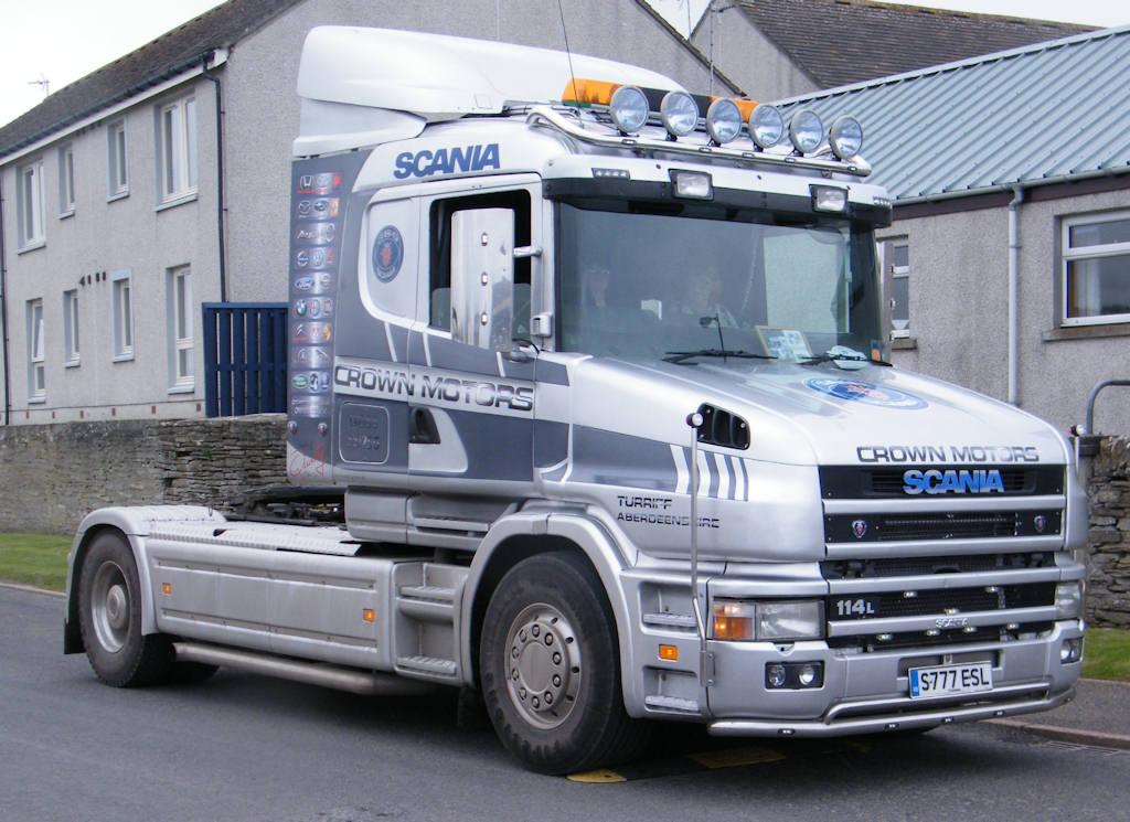 Photo: Scania 114L Cab 1998
