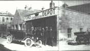 Ford Service Depot Thurso around 1914