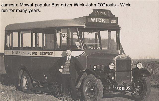 Photo: Jamesie Mowat - Bus Driver