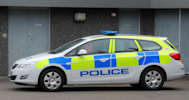 Police Vehicle in Caithness