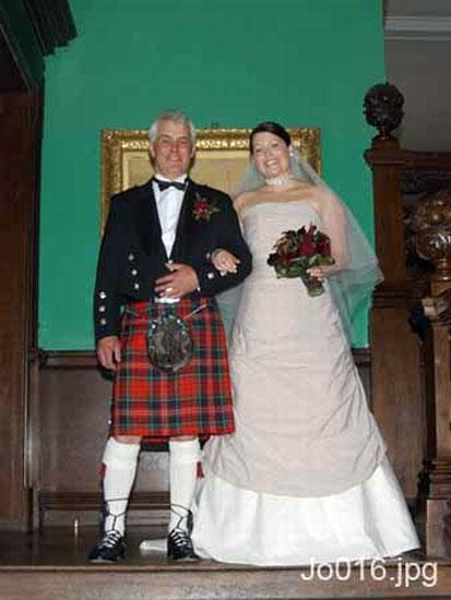 Photo: Donald McEwen & Josephine Matheson