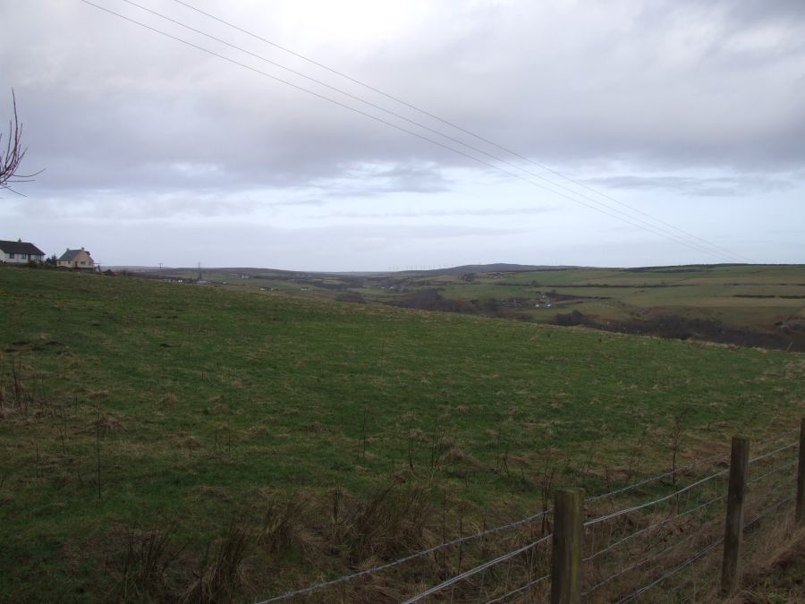 Photo: Buolfruich Wind Farm, Dunbeath From A99 - No Zoom