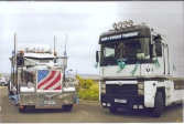 Dan and Dolina Truckin John O'Groats to Lands End for charity