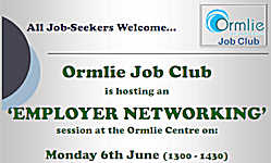 Employer Networking Event At Ormlie Job Club