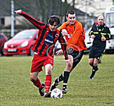 Kalkirk United beat Balintore FC 4 - 0 on 22 January 2011
