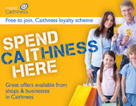 Spend Caithness - A Local Loyalty Card To Make Great Savings