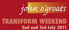 Transform Weekend At John O'Groats
