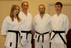 Ritchie family gain blackbelts 2nd Dan