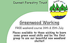 Greenwood working Course - FREE
